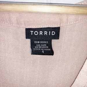 torrid Tops - Torrid | Sleeveless Blush Pink Top